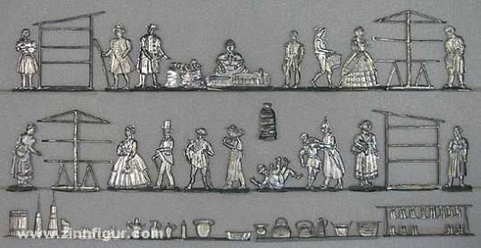 Münchow: Töpfermarkt, 1815 bis 1870