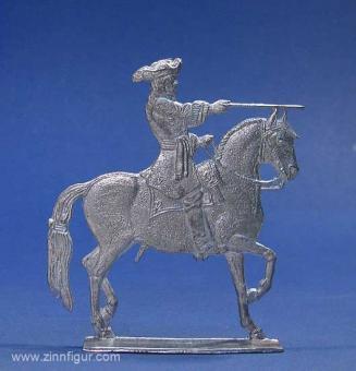 Berliner Zinnfiguren | Großfigur: Ludwig XIV. zu Pferd ...