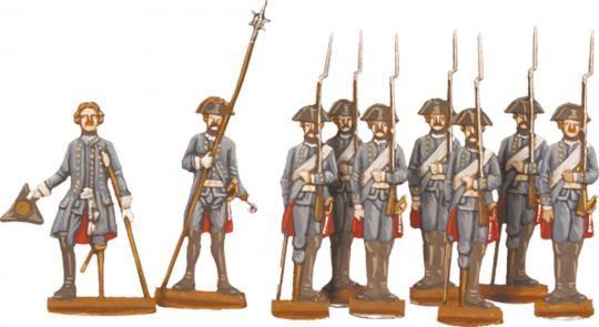 Berliner Zinnfiguren | Prussian Invalid-corps and surgeon at an amputation  | purchase online