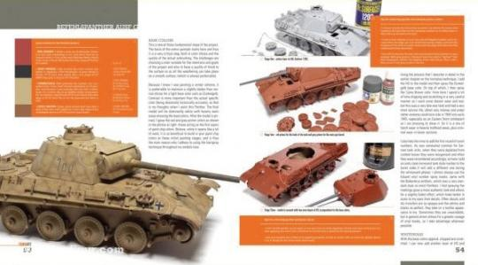 Rinaldi, M : Tank Art  Volume 1: A comprehensive guide to building,  painting and weathering WW2 german Armor