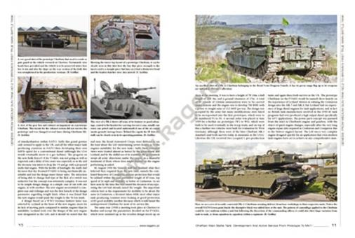 Griffin, R.: Chieftain Main Battle Tank. Development and active Service from Prototype to Mk. 11