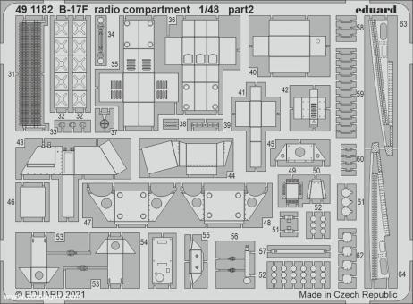 B-17F Funkabteil