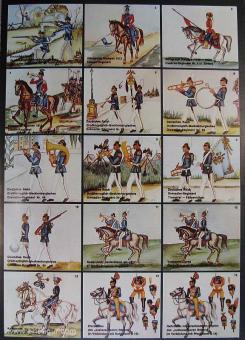 Airfix: Gießformen: Ulan zu Pferd, 1871 bis 1913