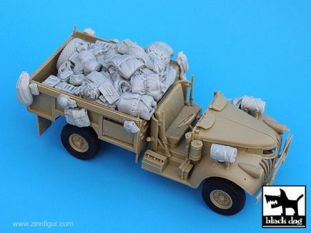 Black Dog T35015 1//35 British SAS Chevrolet north Africa 1942