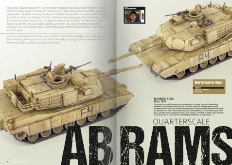 Berliner Zinnfiguren | Abrams Squad  The Modern Modelling Magazine  Issue  28 | purchase online