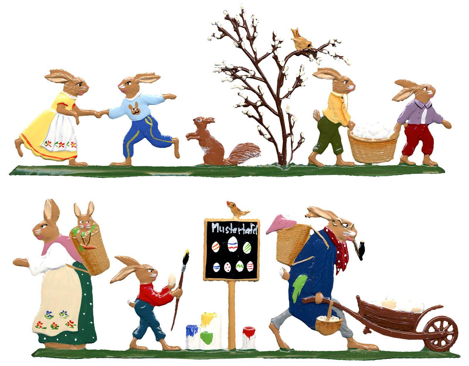 Berliner Zinnfiguren | 2 Mäuse tragen einen Adventskranz | Online kaufen