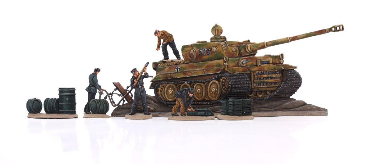 berliner zinnfiguren tiger panzer 1944 online kaufen. Black Bedroom Furniture Sets. Home Design Ideas