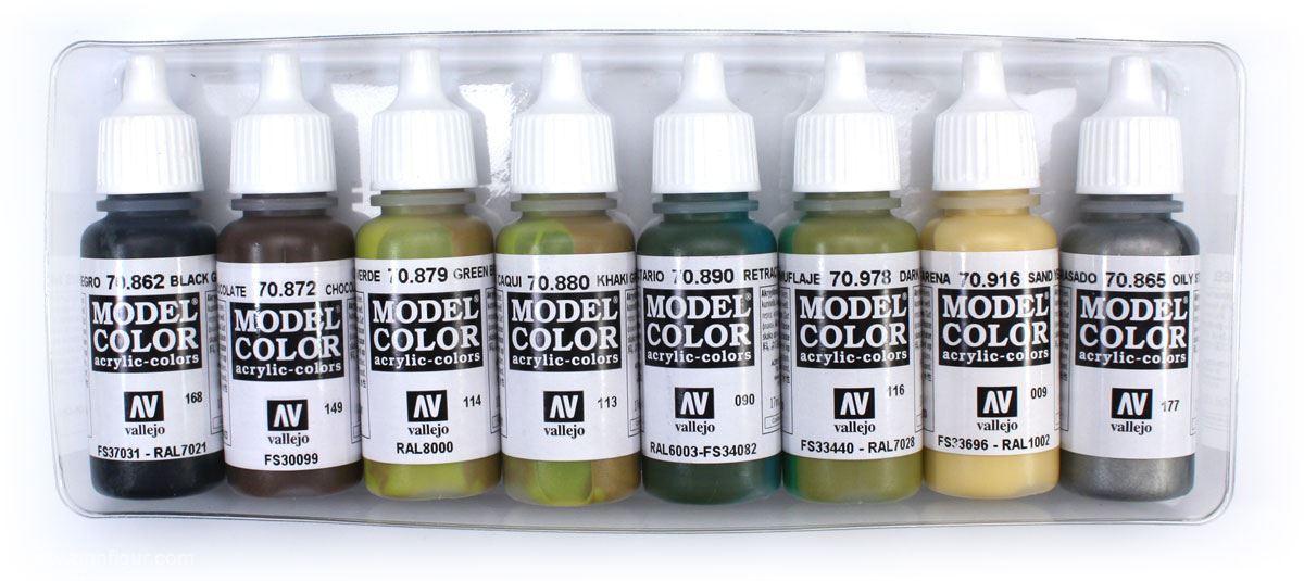 Berliner Zinnfiguren Grundfarben Set Panzer Farben Online Kaufen