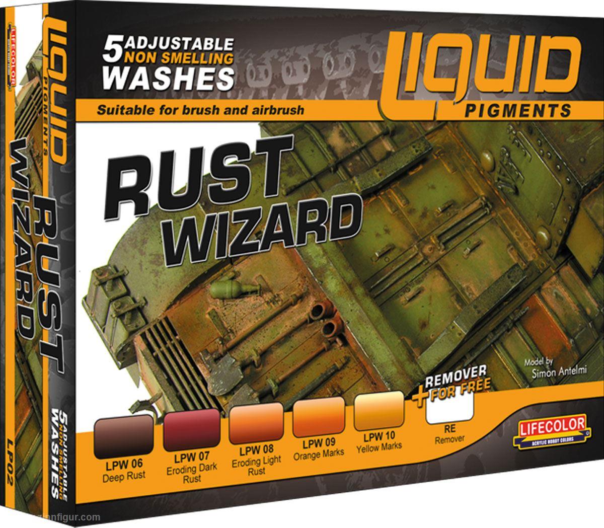 Liquid Pigments: Rust Wizard