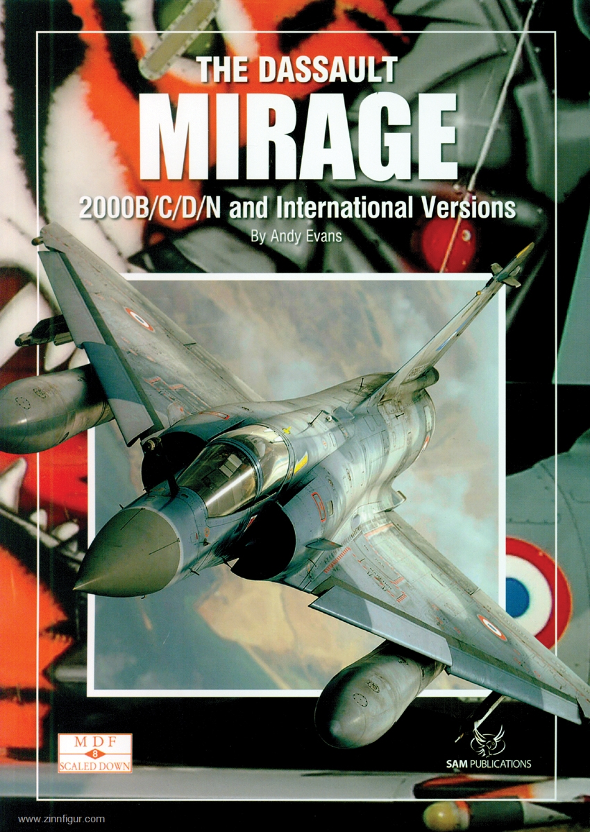 Latin American Mirages-Mirage III//5//F.1//2000 in Service with South America NEW