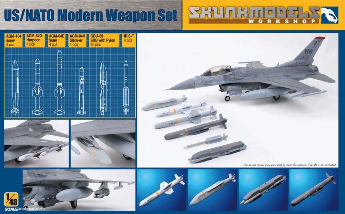 US/NATO Moderne Waffen Set
