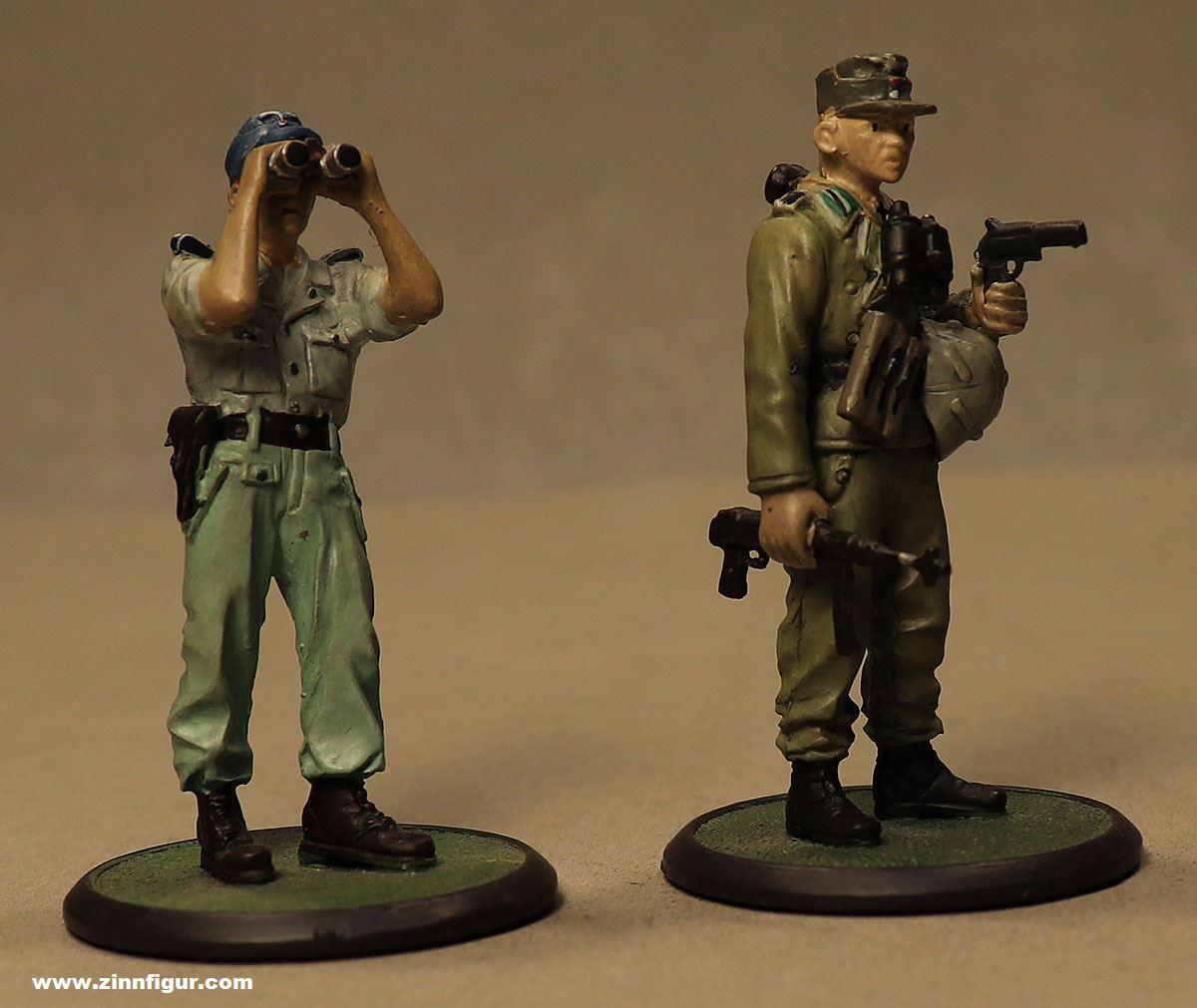 Berliner Zinnfiguren   Atlas-Verlag: Two german soldiers 1/32, 1939 bis  1945   purchase online